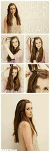 coiffure rapide