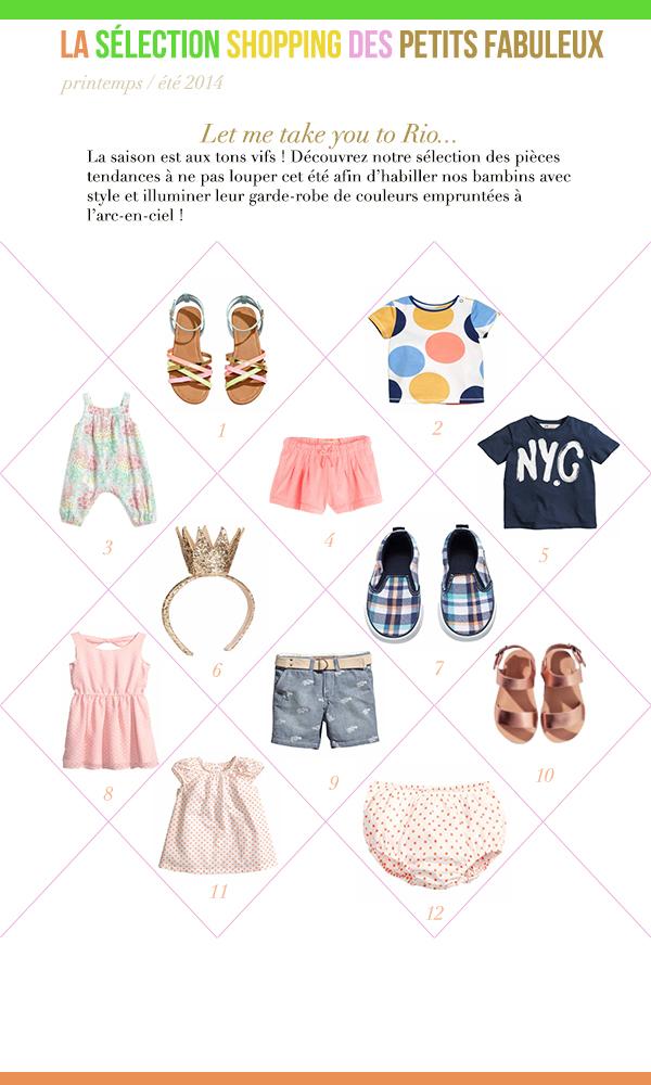 La sélection mode printemps-été 2014 Les Fabuleuses au Foyer - copie