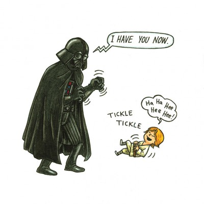 59 Tickle - Darth Vader