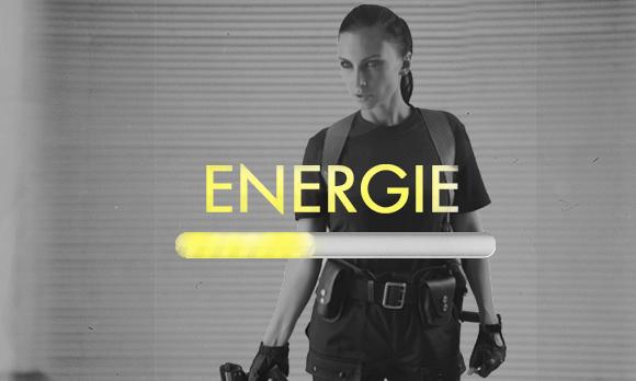 barre d'énergie
